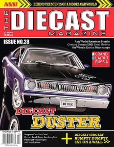 The Die Cast Magazine -  MAG DIECAST-catalogues/books-Hobbycorner