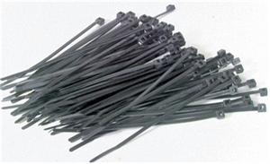100mm Black Cable Ties -  100pk -  HP1203-cable-ties,-tape-and-mounting-accessories-Hobbycorner