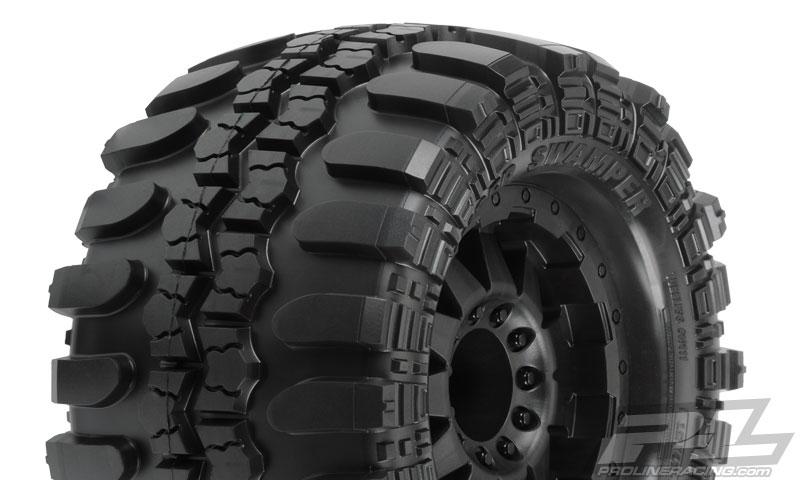 """17mm Wheels F//R Pro-Line 10111-13 Interco TSL SX Super Swamper 3.8/"""" Tires 2"""