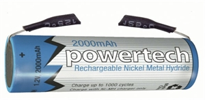 1.2V AA 2000mAH Rechargeable Ni- MH Battery -  Tag -  SB1708-batteries,-chargers-and-testers-Hobbycorner