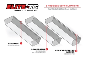 Elite TC Pre- cut Wing Kit 190mm -  1724- 17-radio-controlled-cars-and-trucks-Hobbycorner
