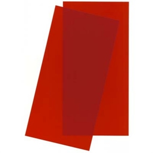Styrene - Sheet Red - 15cm x 29cm x 2mm (2)-building-materials-Hobbycorner