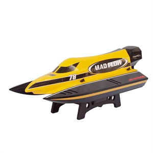 Mad Flow 2.4Ghz Brushless RC Racing Boat -  J8653-radio-controlled-boats-Hobbycorner